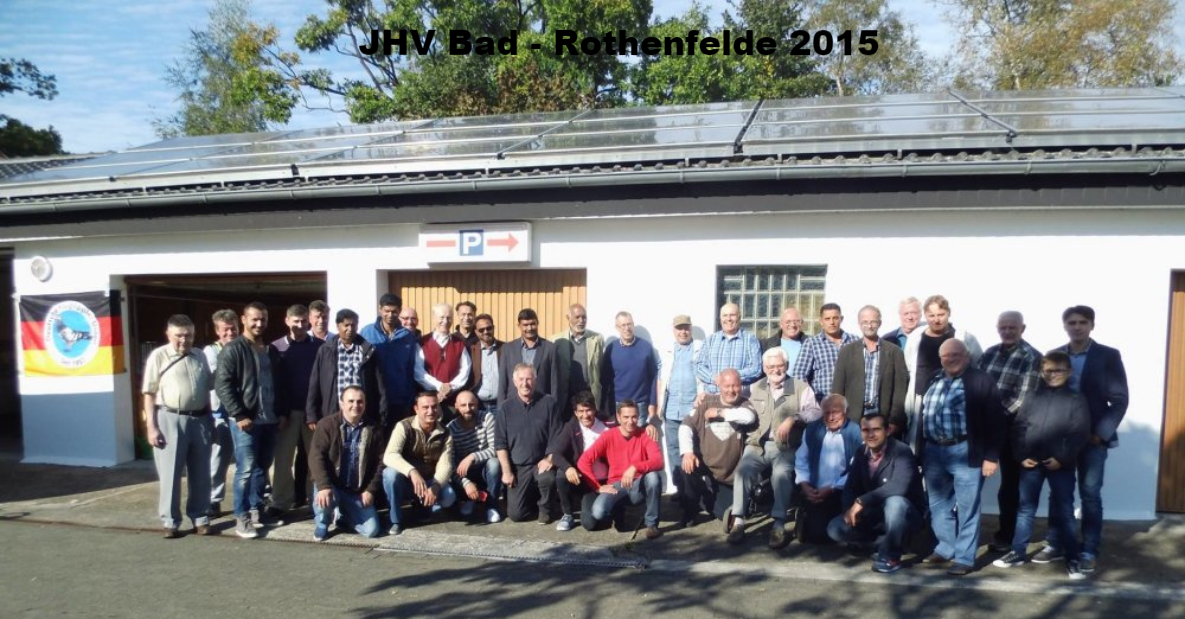 JHV Bad-Rothenfelde 2015